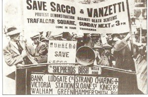 Rally to Save Sacco & Vanzetti